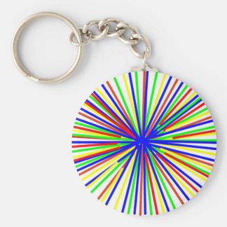 pick-up-sticks basic round button keychain