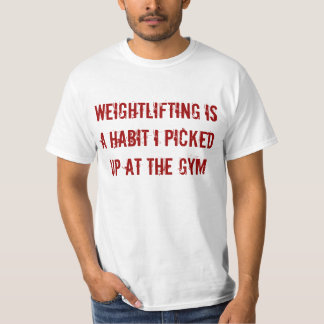 Pick Up Weightlifting T-Shirt
