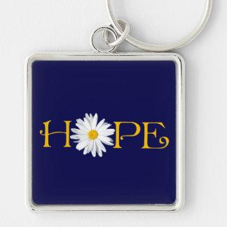 Pick Your Background - Shasta Daisy Hope Keychain