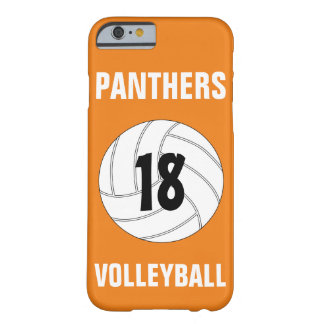 Pick Your Own Color Custom Volleyball Phone Case