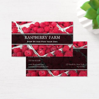 Pick Your Own Raspberry, Business Card