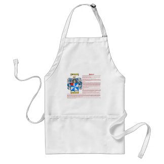 Pickard (meaning) standard apron