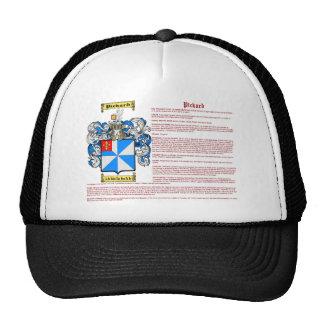 Pickard (meaning) trucker hat