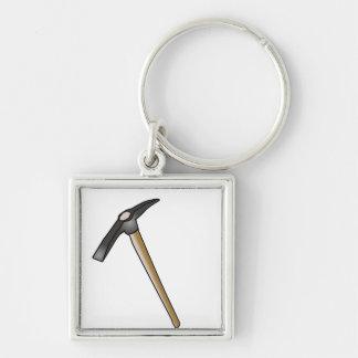 Pickaxe Keychain - o/`o/` diggy dig o/`o/`