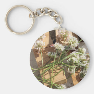 Picked Spring Flowers Keychain