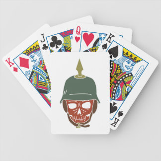 Pickelhaube Helmet Bicycle Playing Cards