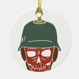 Pickelhaube Helmet Ceramic Ornament