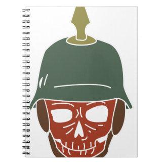 Pickelhaube Helmet Notebooks