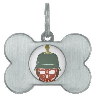 Pickelhaube Helmet Pet ID Tags
