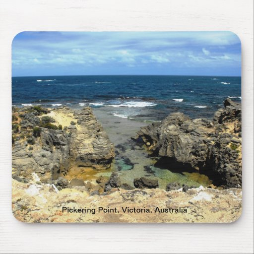 Pickering Point, Victoria, Australia Mouse Pads