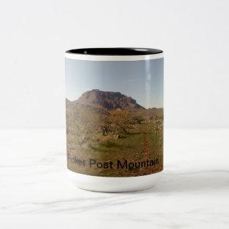 Picket Post Mountain Two-Tone Coffee Mug