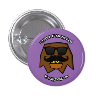 PICKETT MONSTER - INCOGNITO 1 INCH ROUND BUTTON