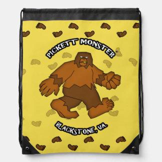 PICKETT MONSTER - Patterson-Gimlin Drawstring Bag
