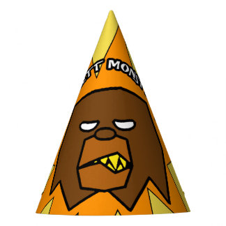PICKETT MONSTER - Patterson-Gimlin Party Hat