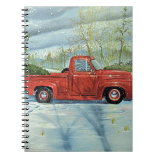 Picking up the Tree for Christmas Notebooks