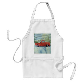 Picking up the Tree for Christmas Standard Apron