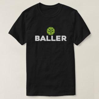(Pickle)Baller Dark Pickleball Shirt