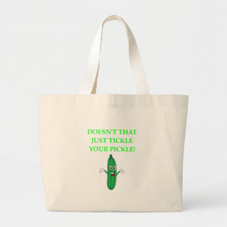PICKLE LARGE TOTE BAG