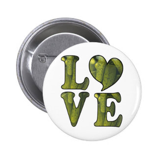 Pickle LOVE Pinback Buttons