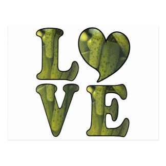 Pickle LOVE Postcard