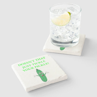 PICKLE STONE COASTER