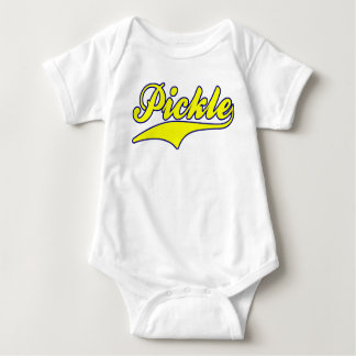Pickle (Yellow / Blue) Baby Bodysuit