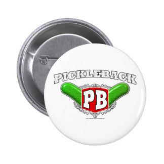 Pickleback Logo 2 Inch Round Button