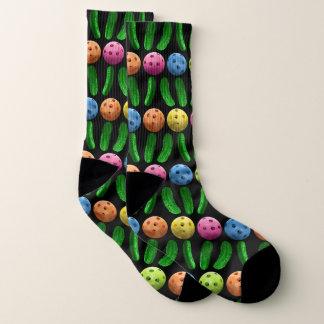 Pickleball and Green Pickles socks