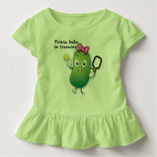 Pickleball Babe in Training - Toddler Toddler T-shirt
