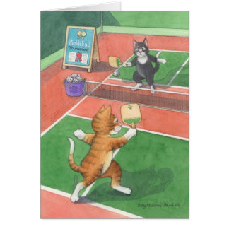 Pickleball Birthday Bud & Tony Notecard