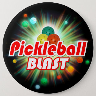 Pickleball Blast 2A-2C Image Options 6 Inch Round Button