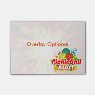 Pickleball Blast Image Options Post-it® Notes