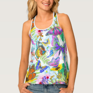 Pickleball Energy Pattern Tank Top