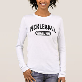 Pickleball Grandma Long Sleeve T-Shirt