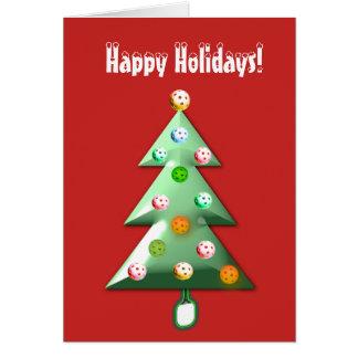 Pickleball Holiday Card