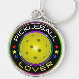 Pickleball Lover 1 Options Keychain