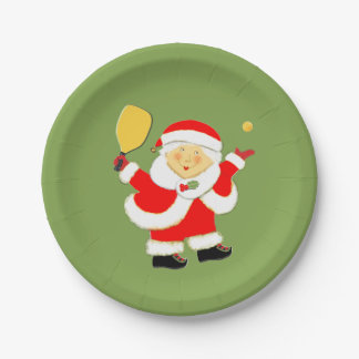 Pickleball Party Paper Plate