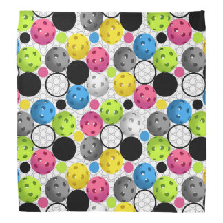 Pickleball Print Bandana
