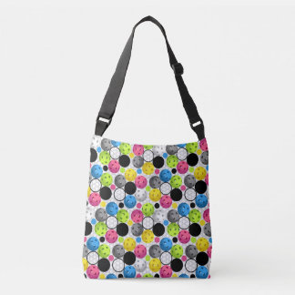 Pickleball Print Crossbody Bag
