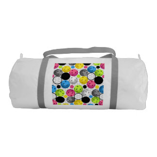 Pickleball Print Gym Bag