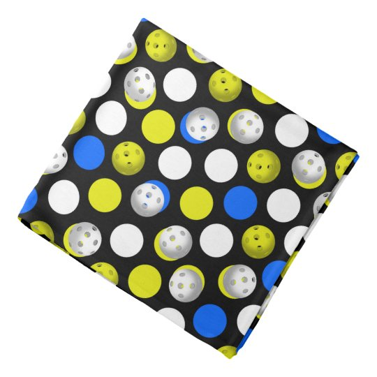 Pickleball print, Neon Green Bandana