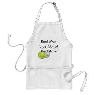 Pickleball -- stay out of the kitchen! standard apron