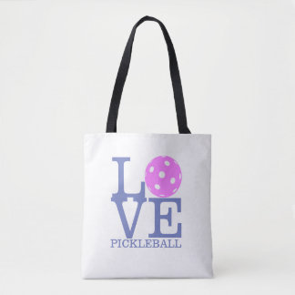 "Pickleball Tote Bag - ""LOVE Pickleball"""