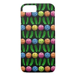 Pickleballs and Green Pickles i Phone Case
