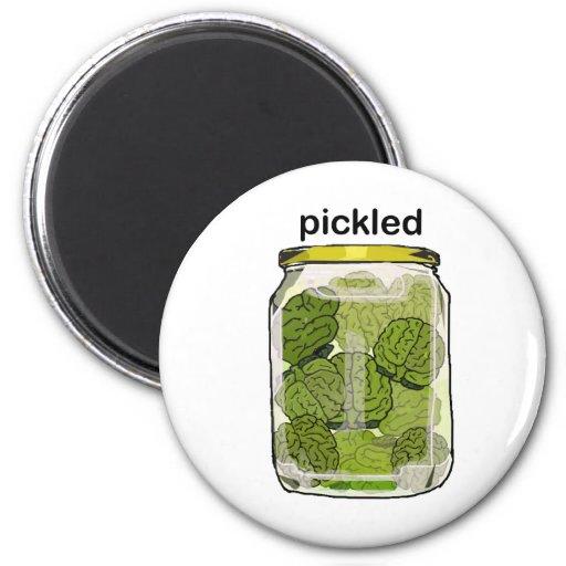 Pickled Brain Refrigerator Magnets