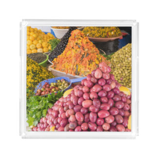 Pickled Food At Market Acrylic Tray