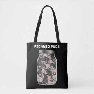 Pickled Pugs Tote Bag