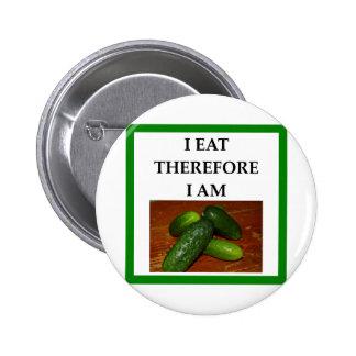 pickles 2 inch round button