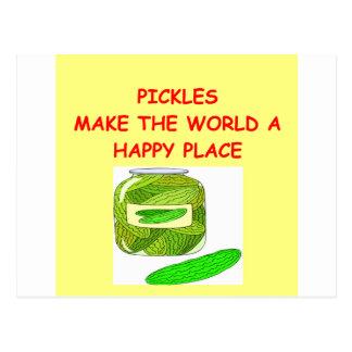 pickles postcard