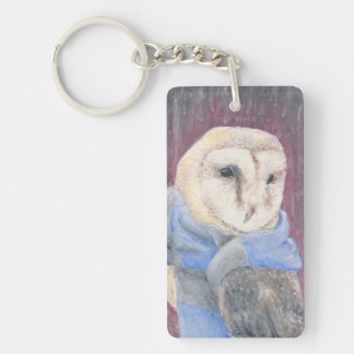 Pickles the Owl Keychain